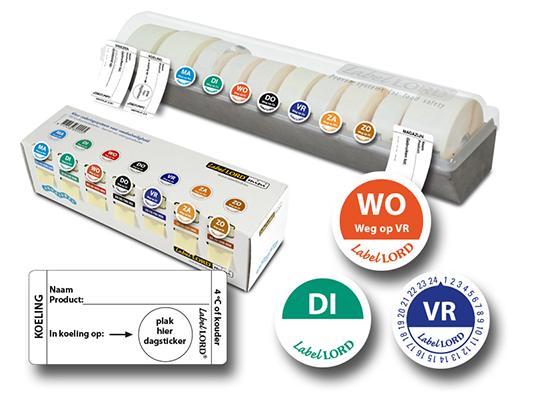Dagcodering-stickers