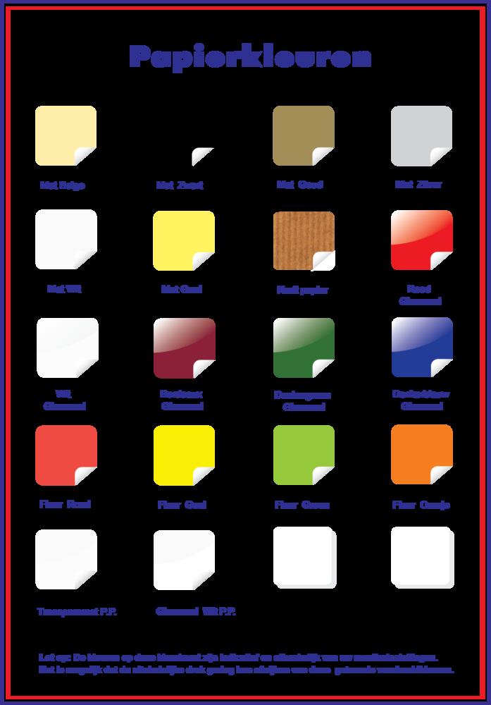 Papierkleuren