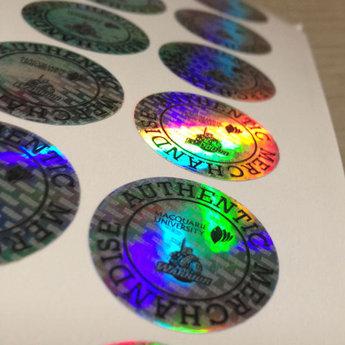 Holografische etiketten