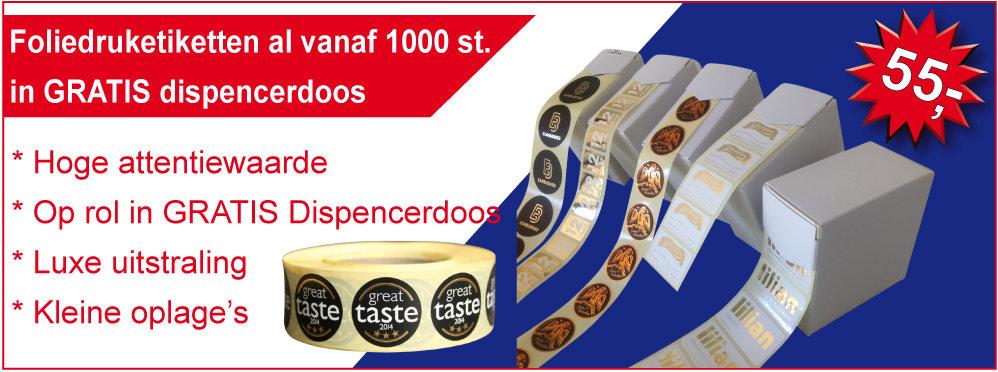 Etiketten voor de detailhandel, Slijterij, Bloemist, Bakkers, Boekenwinkel, Kadoshop, etc.