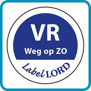 Labellord Aqualabel / VR weg op ZO/ Ø 19mm