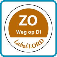 Labellord Aqualabel / ZO weg op DI/ Ø 19mm