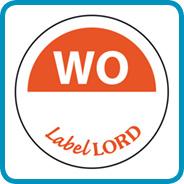 Labellord Aqualabel / WO zonder weg op/ Ø 19mm
