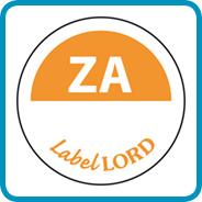 Labellord Aqualabel / ZA zonder weg op/ Ø 19mm