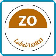 Labellord Aqualabel / ZO zonder weg op/ Ø 19mm